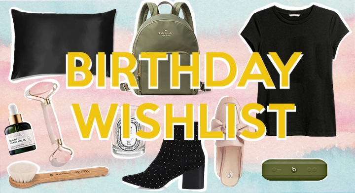 The birthday wishlist