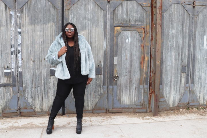 #OOTD: Faux fur for spring