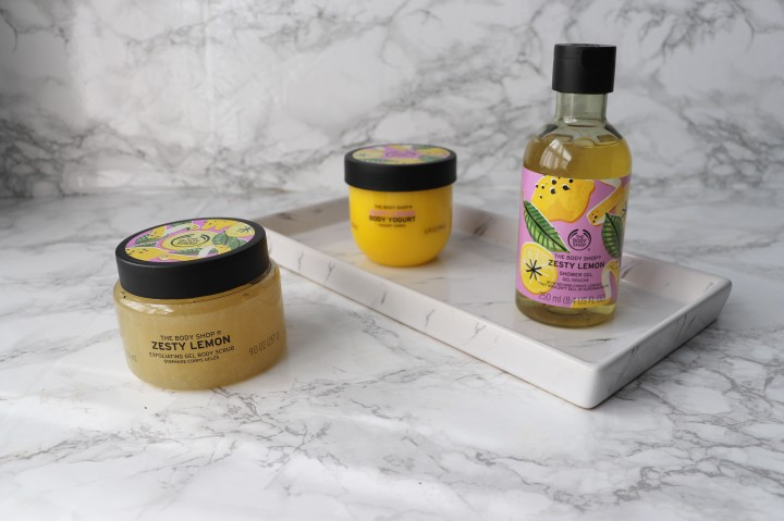 The Body Shop's new line is lemon fresh